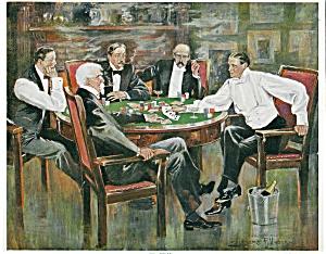 Spela poker online eller på casino